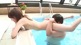 Pretty girlfriend Shizuku Memori loves having sex nigh her BF