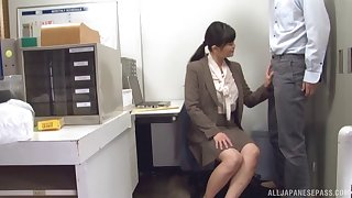 Office secretary fucks her way to salary increment and promotion altogether in the boss's office