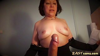 Mature Asian wife craves white big dick