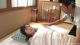 Asian Kawakami Yuu is ready for hard sex with her affiliate in divers poses