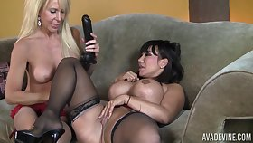 Ava And Erica Lez At large - Grown up Dykes Hard Sex