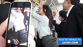 Asian Mommy On The Public Bus - Japanese Porn